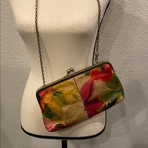 PATRICIA NASH FLORAL CROSSBODY CLUTCH
